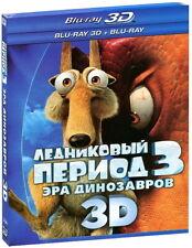 Ice Age: Dawn of the Dinosaurs (Blu-ray 3D+2D) En,Rus,Fre,Dan,Fin,Nor,Por,Esp,Sw