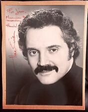 AMAZING MOVIE & TELEVISION FILM AUTOGRAPHED PHOTOGRAPH BARNEY MILLER HAL LINDEN