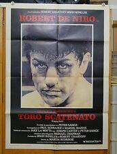 manifesto 2F film RAGING BULL - TORO SCATENATO Robert De Niro  M.Scorsese 1981