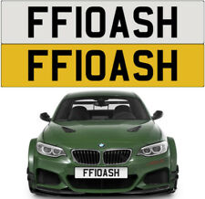 FLASH CHEEKY ASH FUNNY LOOK HI HELLO FLO WOW PRIVATE NUMBER PLATE