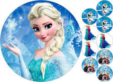 Tortenaufleger---Elsa---Geburtstag--Party--Tortenbild--Fondant //Oblate