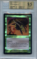 MTG  Shivan Wurm BGS 9.5 Gem Mint Plainshift Magic Foil Card Amricons 5175