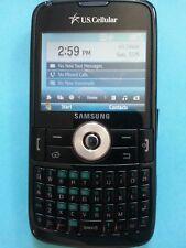 Samsung Exec SCH-I225  Black  (U.S. Cellular) Smartphone used