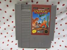 Karnov Game for Original Nintendo NES System Console