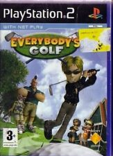 RETRO SPORT GAME SONY PLAYSTATION GAMES PS 2 RETROGAME-EVERYBODY'S GOLF pga,tour