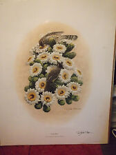 "RICHARD SLOAN ""CACTUS WREN"" LIMITED EDITION, DOUBLE SIGNED, NEW IN SHRINK WRAP"