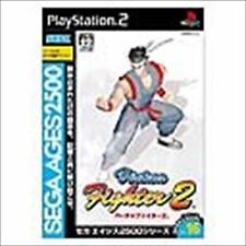 Used PS2 Sega AGES 2500 Vol. 16 Virtua Fighter 2 SONY PLAYSTATION JAPAN IMPORT