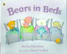 BEARS IN BEDS David Walker Shirley Parenteau New 2015 Walker paperback Childrens