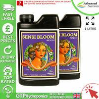 Advanced Nutrients Sensi Bloom A&B 1L - Plant Flowering A+B Nutrient - 1 Litre