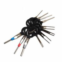 11X Terminal Removal Tools Car Electrical Cable Wiring Crimp Connector Pin J6R4