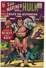 Tales To Astonish 84 Marvel 1966 FN Hulk Sub-Mariner Stan Lee Gene Colan