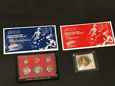 US MINT UNC. COIN SETS 2005 + 1980-S PROOF SET + STATE QUARTERS +  LIBERTY COIN