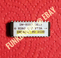 Korg DW-8000 OS 13 EPROM Firmware Upgrade KIT / New Final ROM Update Chip DW8000
