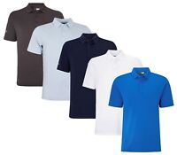Callaway Cheve Hex Solid Stretch Polo Shirt - ALL SIZES - 1st Class Post