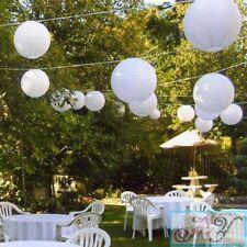 40x 30cm white paper lanterns engagement wedding birthday party venue decoration