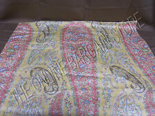 Pottery Barn Colette Paisley Bed Pillow Sham Euro Square French Terracotta Vines