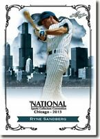 50) RYNE SANDBERG - 2013 Leaf National Convention PROMOTIONAL Baseball Card LOT