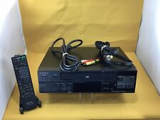 Sony SVO-1430 VHS/VCR PROFESSIONAL Videocassette Recorder W/REMOTE,AVCABLE/PCORD