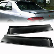 JDM Black Rear Roof Visor Window Spoiler Wing For 97-01 Honda Prelude NEW