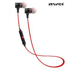 Awei Wireless Bluetooth Stereo In-Ear Headphone Sport Sweatproof Earbud With Mic