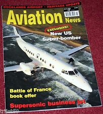 Aviation News 2008 March London City Airport,Aerion SST