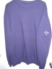Callaway Golf Sport Sweatshirt Navy X-Large Active Wear Men's Apparel