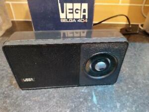 Vintage USSR Receiver Portable Radio Selga 404 RARE Transistor - please read the