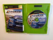 Forza Motorsport Complete [CIB] Game (Original Xbox, 2005) FAST FREE SHIPPING
