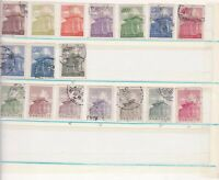 china mounted mint and used stamps ref 13115