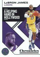 NBA Panini Trading Card Chronicles 2019/2020 Lebron James No 10