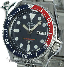 SEIKO 200Mt AUTOSCUBA PRO DIVERS With STAINLESS STEEL BRACELET SKX009J2