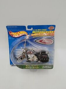 Hot Wheels - 1:18 - Harley Davidson Heritage Springer Motorcycle - #88425