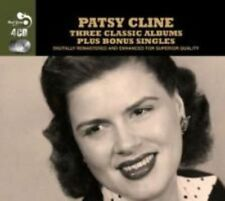 PATSY CLINE - 3 CLASSIC ALBUMS PLUS NEW CD