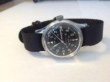 EXTREEMLY Rare Mens Hamilton Military Watch 1960's