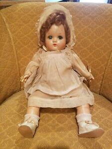 "16"" Madame Alexander Antique Baby Doll ""Little Genius"" Composition/cloth"