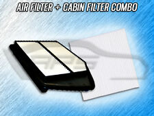 AIR FILTER CABIN FILTER COMBO FOR 2014 2015 2016 2017 HONDA ACCORD - 2.4L ONLY