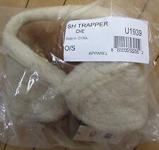 UGG Hat Aviator Trapper Shearling Bailey Chestnut NEW