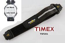 Timex Ersatzarmband T5F251 IronMan Triathlon Flix 30 lap - 24 mm Klettband
