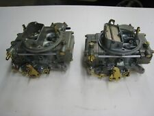 Ford Fairlane FE 427 NEW 715 Cfm Holley 2X4 Dual Quad Carbs List  3300-3301 SALE