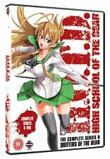 High School Of The Dead & Drifters Of The Dead OVA DVD New & Sealed ANIME 2 MN