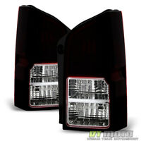 Blk Tinted 2005-2012 Pathfinder Tail Lights Brake Lamps Pair Left+Right 05-12