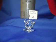 "Swarovski Silver Crystal ""Medium Mouse"" Figurine W/ Box And Certificate"