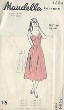 1950s Vintage Sewing Pattern B44 PETTICOAT-SLIP (R646)