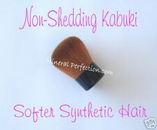 Newest NON-SHEDDING Vegan KABUKI Brush 4 Mineral Makeup