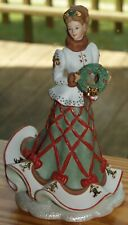 "Lenox ""The Legendary Princesses� Kimberley The Christmas Princess – In Box w/Coa"
