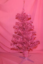 """Pink CHRISTMAS TREE ARTIFICIAL Tree 24""""-26"""" with Tip Attached Stand"""