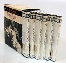 6 DVD BOX COLLECTION CHARLIE CHAPLIN LE GRANDI COMICHE I MIGLIORI CORTOMETRAGGI