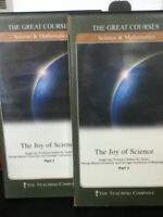 The Great Courses   Science & Mathematics:The Joy of Science Part 1-5 10 DVD Set