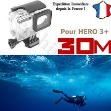 BOITIER COQUE ETANCHE SUBMERSIBLE 30m - Accessoires pour GOPRO HERO 3+ - Plongée