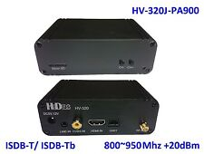 HV-320J-PA900 FPV Full HD Video Tx (100~2500Mhz), HDMI/CVBS to ISDB-T/-Tb